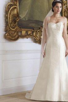 Свадебное платье айвори бюстье