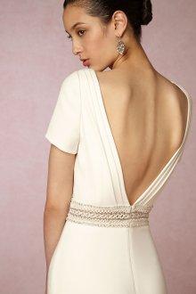 Свадебное платье айвори этническое