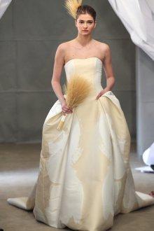 Свадебное платье айвори необычного фасона