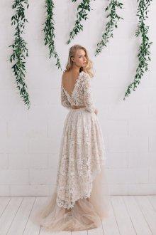 Свадебное платье айвори костюм