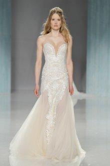 Свадебное платье айвори лето 2019