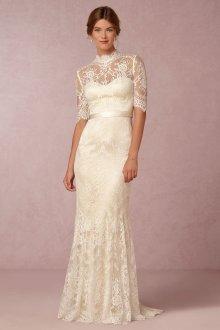 Свадебное платье айвори ретро