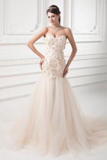Свадебное платье айвори рыбка