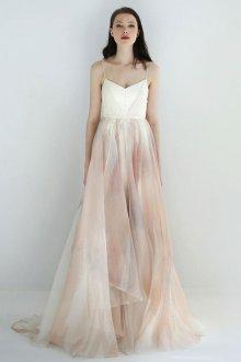 Свадебное платье айвори шифоновое