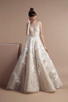 Свадебное платье айвори свободное