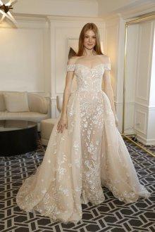 Свадебное платье айвори трансформер