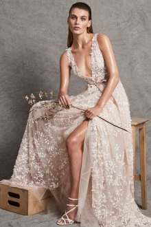 Свадебное платье айвори тренды