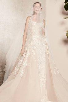 Свадебное платье айвори с вышивкой