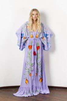 Повседневное платье бохо длинное