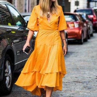 Повседневное платье с коротким рукавом