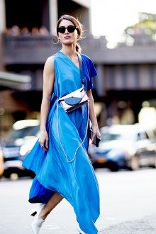 Повседневное платье шелковое