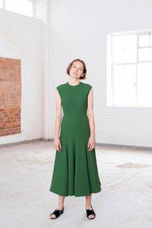 Повседневное платье зеленое