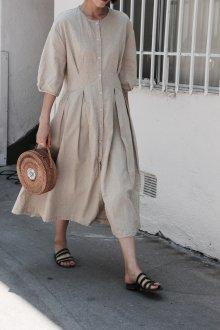 Бежевое платье летнее