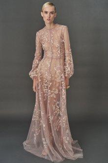 Бежевое платье свадебное прозрачное