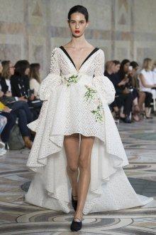 Свадебное платье для беременных асимметричное