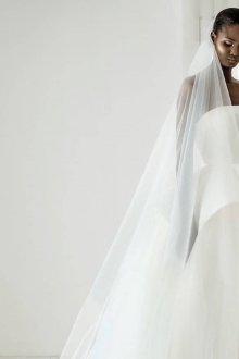 Свадебное платье для беременных с баской