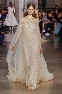 Свадебное платье для беременных бежевое