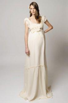 Свадебное платье для беременных бохо
