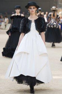 Свадебное платье для беременных черно-белое