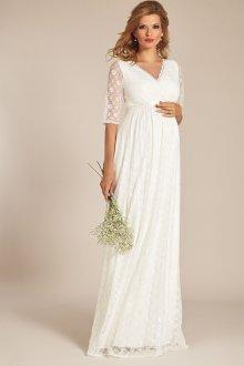 Свадебное платье для беременных гипюровое