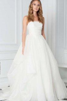 Свадебное платье для беременных простое