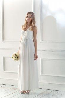 Свадебное платье для беременных шифоновое