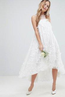 Свадебное платье для беременных А силуэта