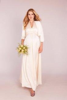 Свадебное платье для беременных скрывающее живот