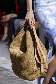 Сумка хобо плетеная