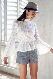 Блузка прозрачная хлопковая