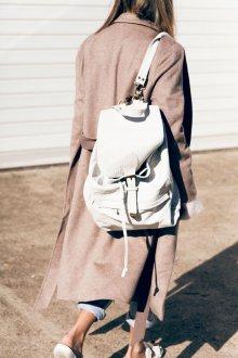 Белый рюкзак большой