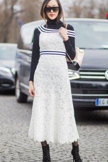 Белый рюкзак Chanel