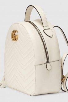Белый рюкзак Gucci