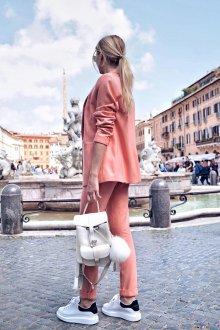 Белый рюкзак маленький