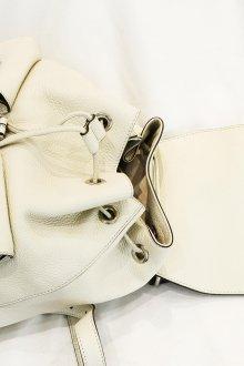 Белый рюкзак мешок