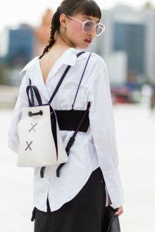 Белый рюкзак мини