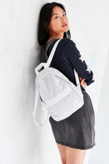 Белый рюкзак тканевый