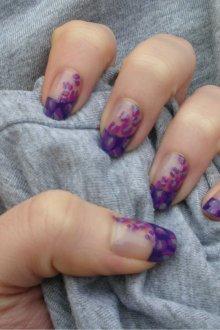 Фиолетовый французский