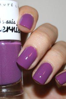 Фиолетовый маникюр покрытие