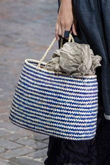 Вязаная сумка атласная