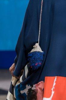 Вязаная сумка мини через плечо