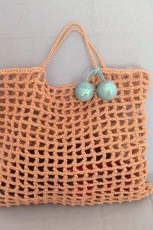 Вязаная сумка сетка