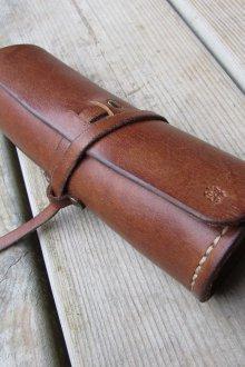 Футляр для очков кожаный