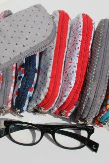 Футляр для очков текстильный