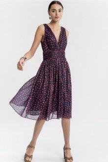 Платье в горошек на лето
