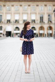 Платье в горошек редкий