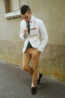 Лоферы мужские коричневые