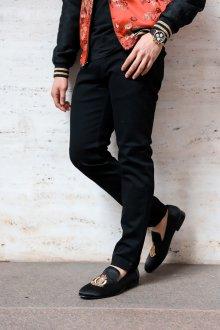 Лоферы мужские с вышивкой