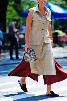 Лоферы женские с квадратным носком