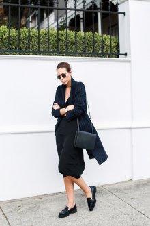 Лоферы женские с пиджаком